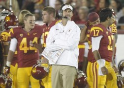 Southern Cal's Sanctions Are Over, but Lane Kiffin Memories Are Forever