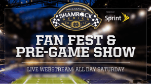 Can't Make It to the Shamrock Series? Let WatchND Take You There!