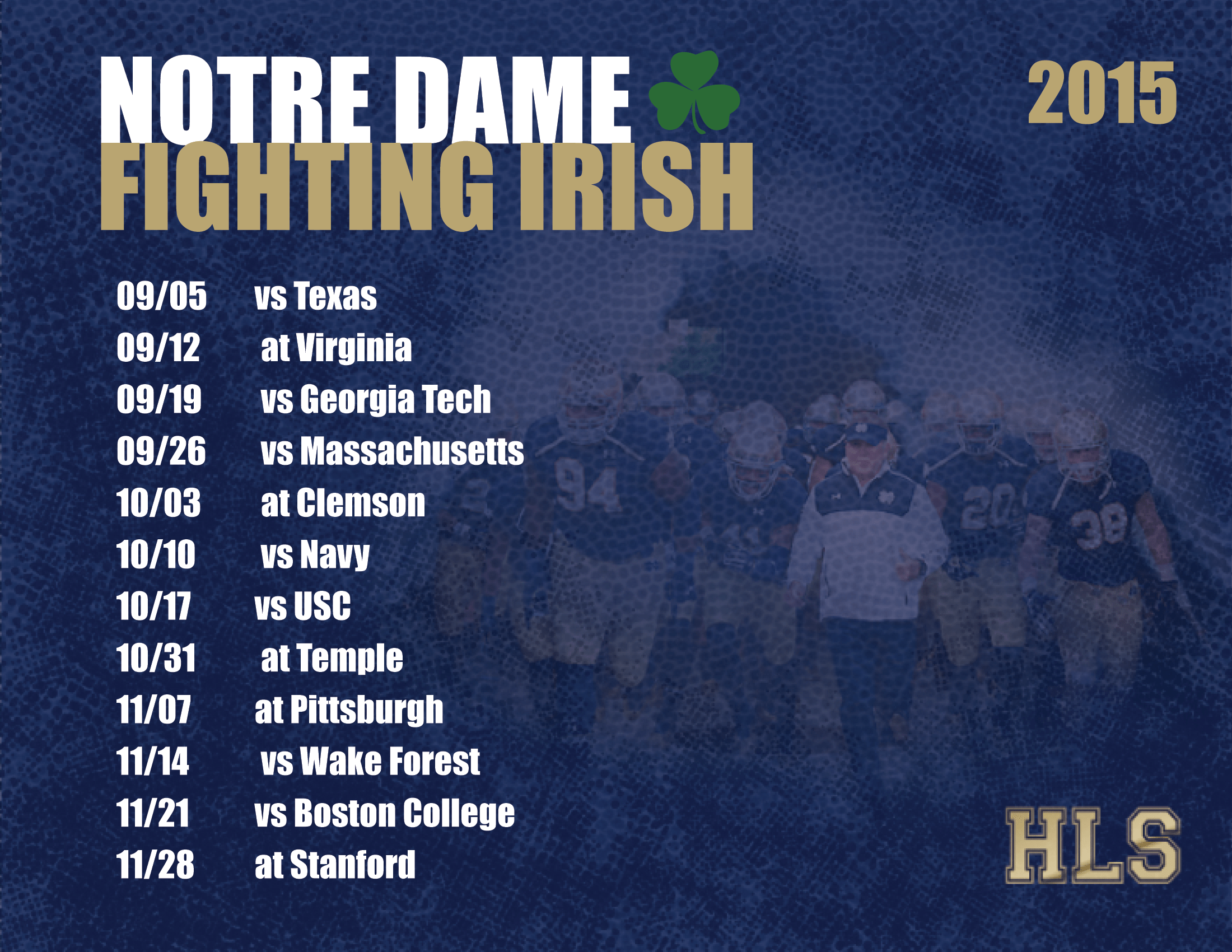 notre dame football schedule - photo #22