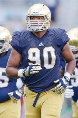Notre Dame defensive lineman Isaac Rochell. (Robin Alam/Icon SMI)