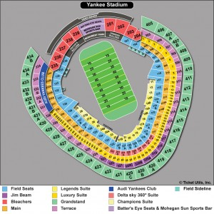 Pinstripe Bowl seating chart