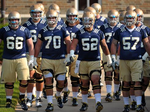 Notre Dame 2016 Football Roster Her Loyal Sons