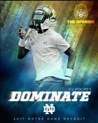 After Trolling ND Fans, C.J. Holmes Is All Irish