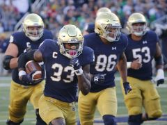 Josh Adams (and Notre Dame) Control the Heisman