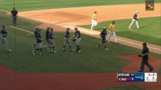 Notre Dame Baseball Makes a Huge Statement with Series Win over #9 LSU