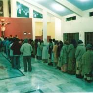 Celebración en la nueva Iglesia