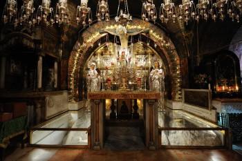 Santo Sepulcro en la ciudad de Jerusalén