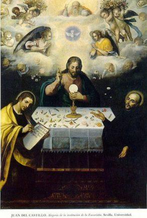 Alegoría de la eucaristía (Universidad de Sevilla)
