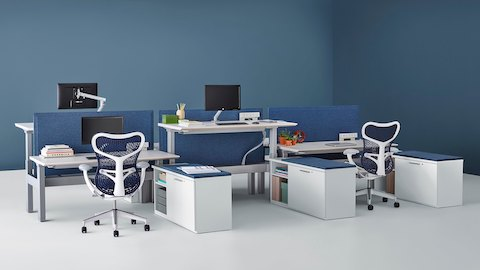 Renew Link Workstations Herman Miller