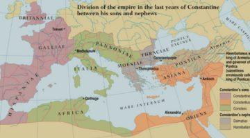division-del-imperio-romano-a-la-muerte-de-constantino-el-grande
