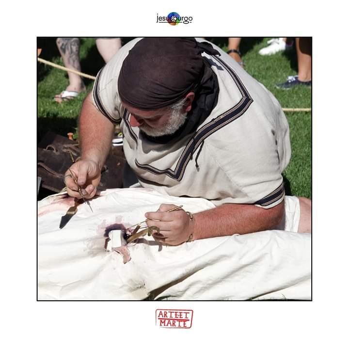Arte et Marte 2019: Medicina de Campaña