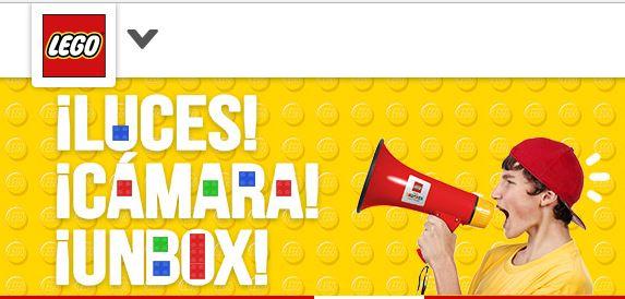 Apoyemos a Mario para el Unboxing Team de Lego