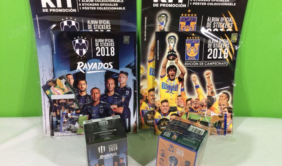 Review Albumes Oficiales de Tigres y Rayados 2018