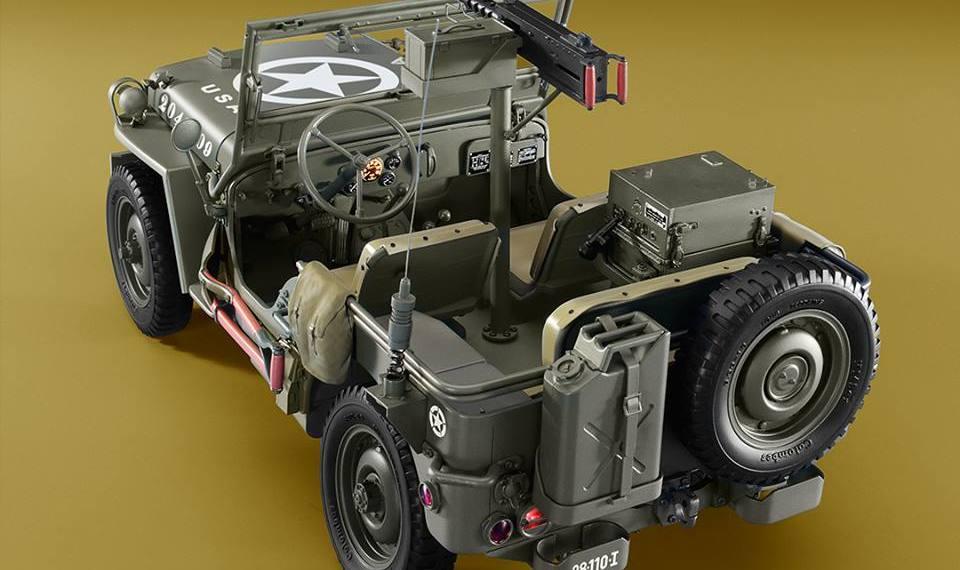 Armando el Jeep Willys de Editorial Salvat