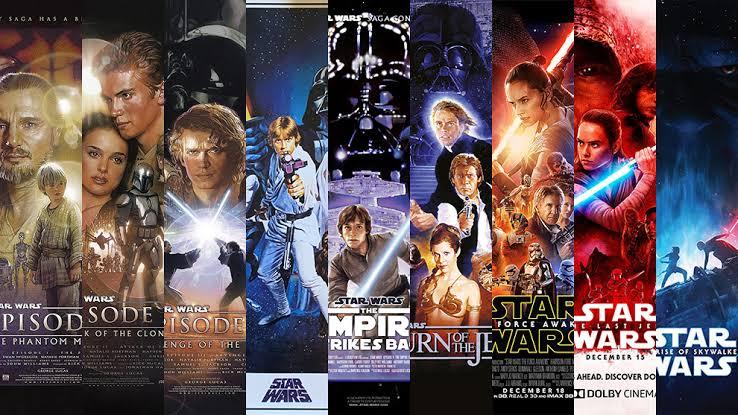 Toda la saga de Star Wars esta disponible en Amazon Prime desde 1 de Mayo 2020
