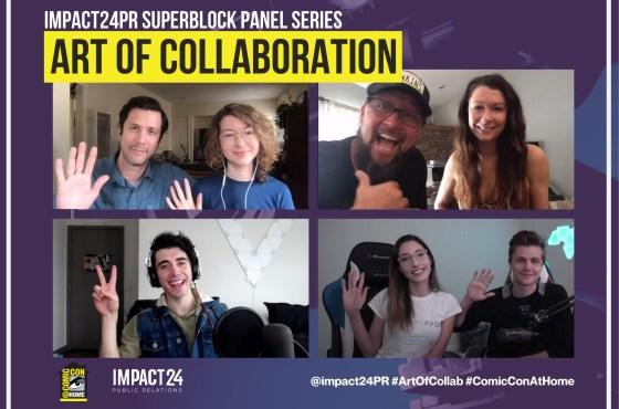 COMIC-CON@Home 2020 – «El Arte de la Colaboración» Stranger Things, Cobra Kai, 303 eSports, y Cheer Creatives