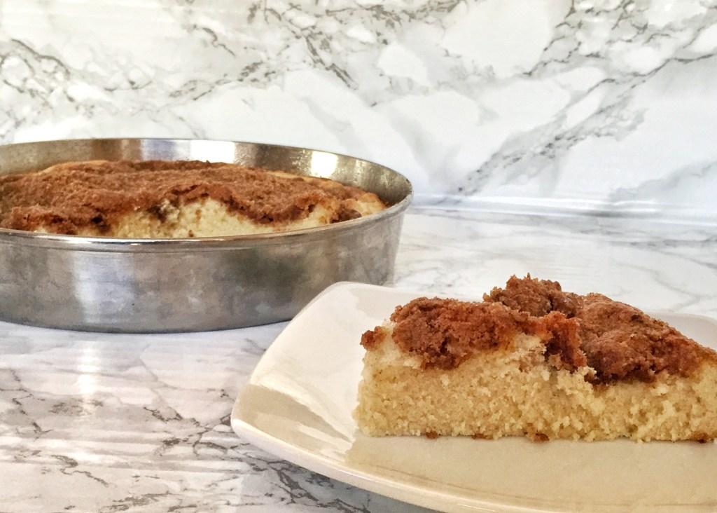 Cinnamon Sugar Crumb Coffee Cake - her modern kitchen