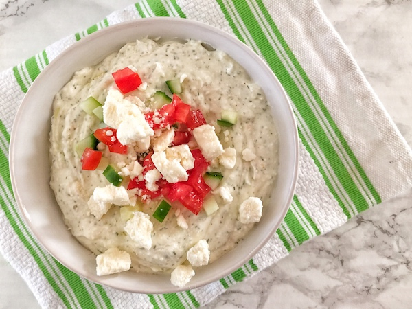 Whipped Greek Feta Dip: A Summertime Party Appetizer