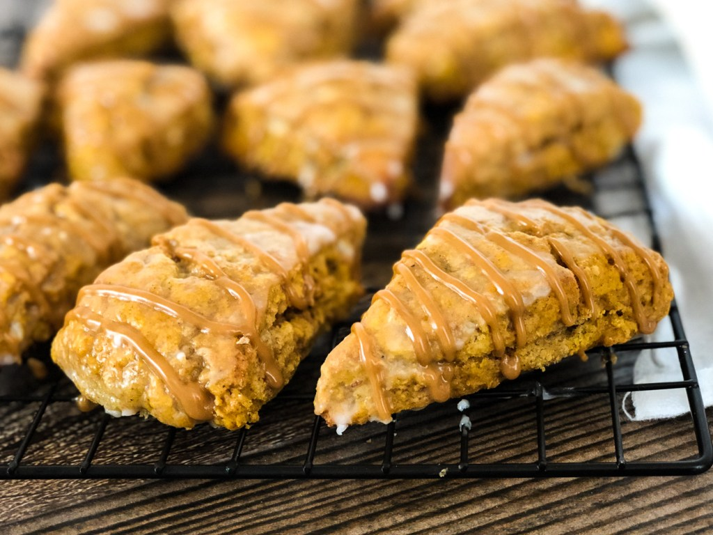 mini pumpkin spice scones 3