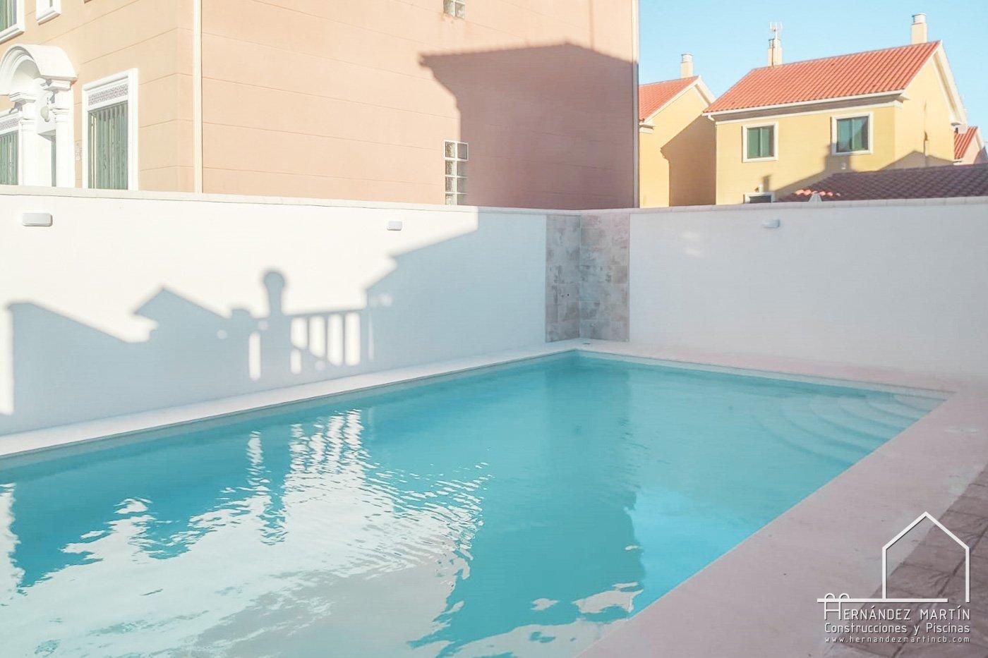 hernandez martin construcciones y piscinas experiencia obra piscina zamora salamanca valladolid PISCINA - cubierta climatizada prefabricada