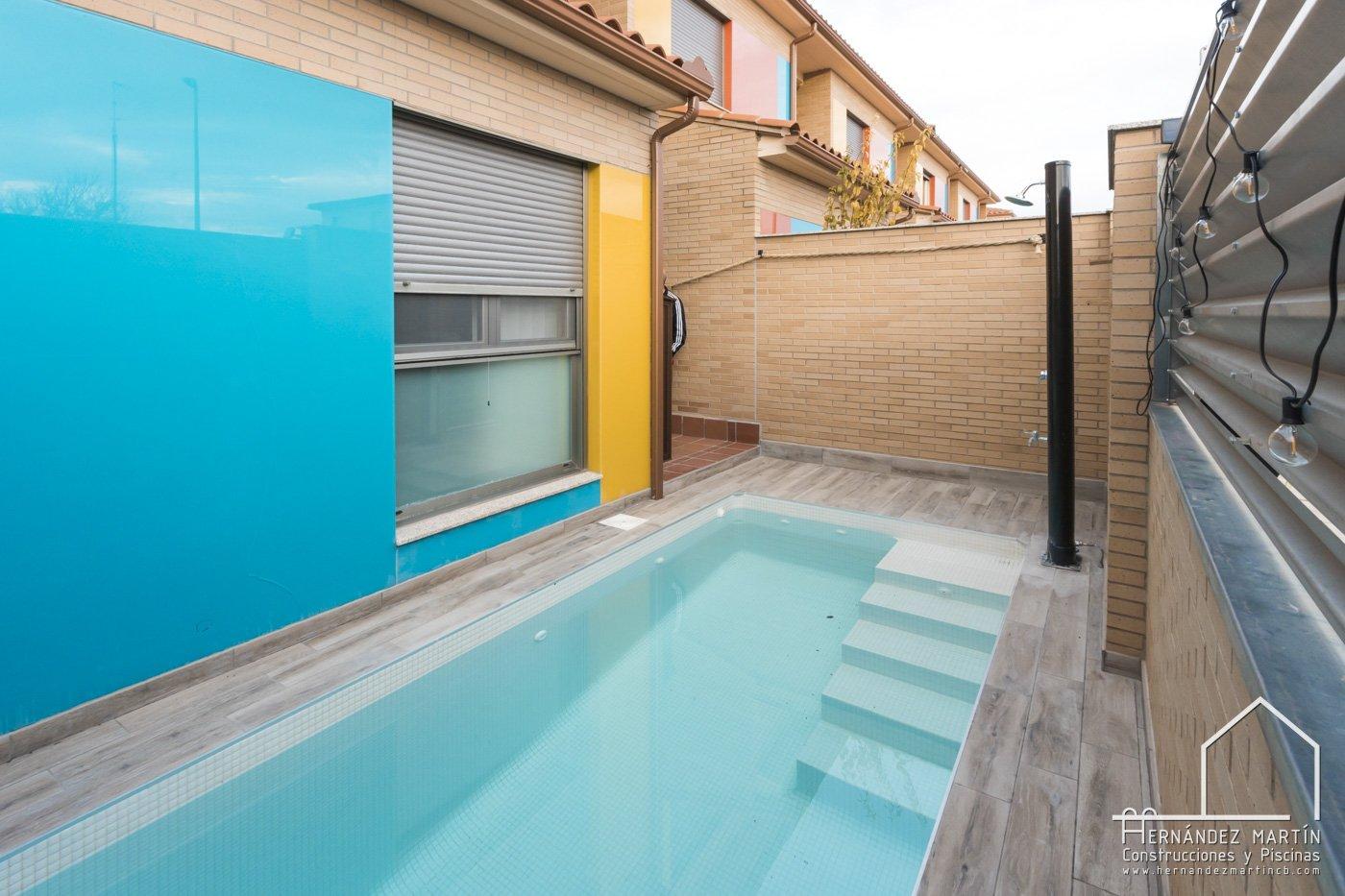 hernandez martin construcciones y piscinas experiencia obra piscina zamora salamanca valladolid patio pequeña adosado