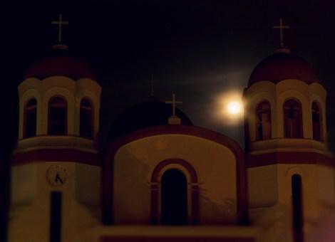 Noche de luna en San Juan del Cesar (La Guajira).