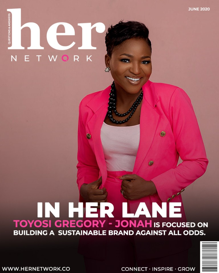 Toyosi Her Network Digital Cover