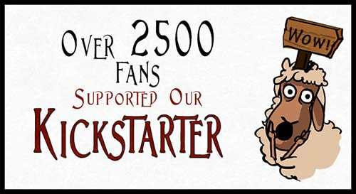 2500 backers