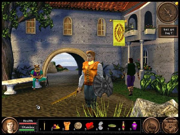 QfG Dragon Fire Screenshot