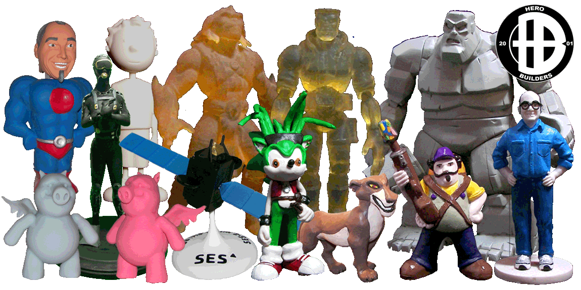 Custom Figurines, Corporate Mascots and Custom Toys Made to Order