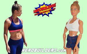 Female Fitness Model Action Figure