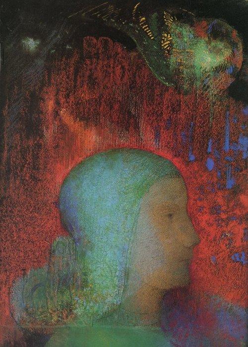 Jeanne d'Arc par Odilon Redon