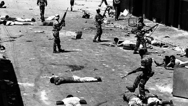 Émeutes et répression par l'armée en février 1988 à Caracas (Caracazo)