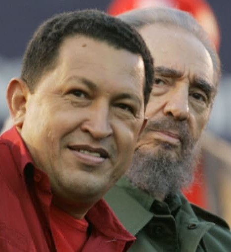 Hugo Chavez et Fidel Castro (DR)