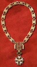 Le collier du grand-maître de la Légion d'Honneur