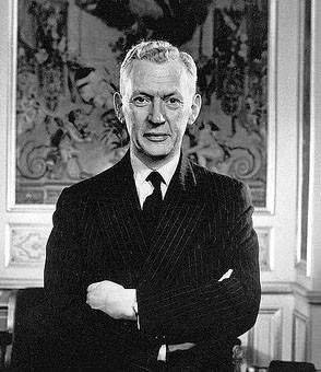 Maurice Couve de Murville (24 janvier 1907 - 24 décembre 1999) à l'hôtel Matignon en 1969 (DR)