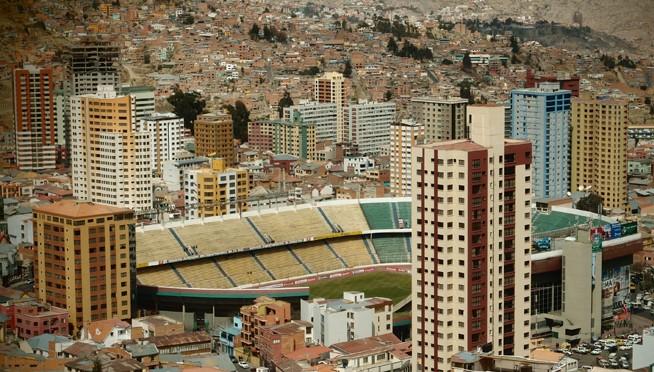 Le stade de Lima (Pérou) (photo : Caroline et Hubert Rameye, 2013)