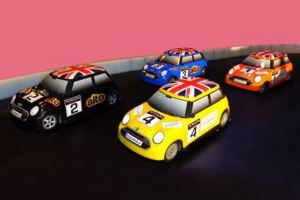 Branded Racing Cars
