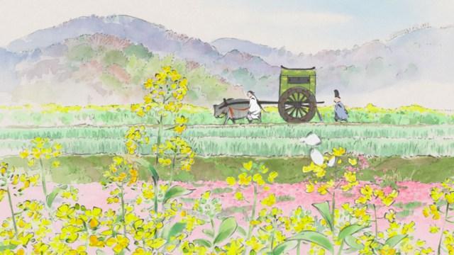 Takahata's vision, a mesmerising moving Monet