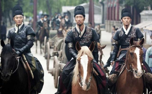 Ethan Li, Wang Qianyuan and Chang Chen in Brotherhood of Blades