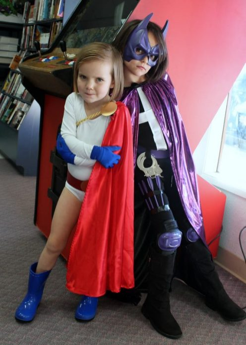 Power Girl and the Huntress