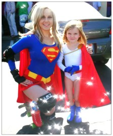 Supergirl and Power Girl