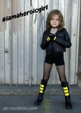 Stella as Black Canary