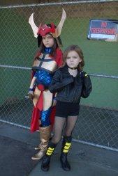 Big Barda and Black Canary