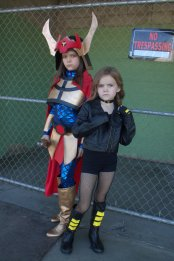 Big Barda and Black Canary