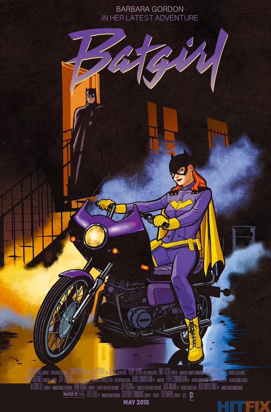 Batgirl: Purple Rain variant -- Cliff Chiang