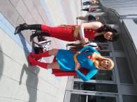 Wonder Girl and Supergirl