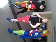 Robin, Wonder Girl and Miss Martian