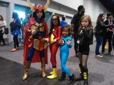 Big Barda, Spider-Woman, Invisible Woman and Black Canary