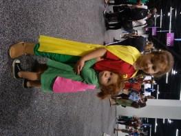 Robin and a Super-Kid